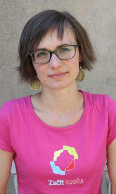 Markéta Švecová, projektová koordinátorka